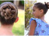 Cute Girls Hairstyles Youtube Channel Braid Buns