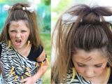 Cute Girls Hairstyles Youtube Channel Cave Woman Half Up Halloween Hairstyles