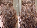 Cute Hairstyles Down for Prom Sweet Sixteen Prom Hair Hairstyles