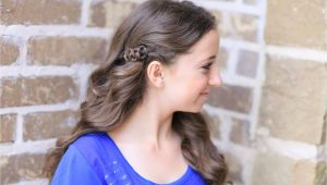 Cute Hairstyles for A Concert Slide Up Braids