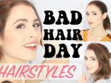Cute Hairstyles for Bad Hair Days 3 Easy Hairstyles for Bad Hair Days