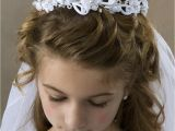 Cute Hairstyles for First Communion Bun Hairstyles for Munion