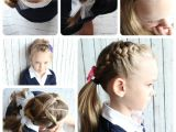 Cute Hairstyles for Picture Day at School 10 Easy Hairstyles for Girls somewhat Simple