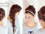 Cute Hairstyles for Rainy Days 4 Hairstyles for Rainy Days