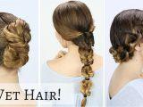 Cute Hairstyles for Short Wet Hair Cute Wet Hairstyles for Long Hair