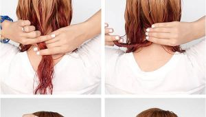 Cute Hairstyles for Short Wet Hair Get Ready Fast with 7 Easy Hairstyle Tutorials for Wet