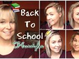 Cute Hairstyles for Shoulder Length Hair for School Back to School Quick & Easy Hairstyles Shoulder Length