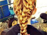 Cute Hairstyles for softball Games Niece S Hair for Her softball Game Cute