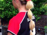 Cute Hairstyles for softball Games softball Hair softball Hairstyles