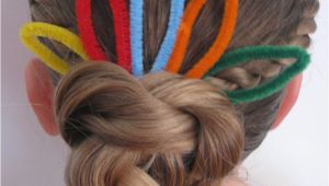 Cute Hairstyles for Thanksgiving Thanksgiving Turkey Bun Hairstyle Babes In Hairland
