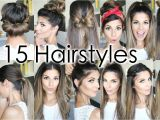 Cute Hairstyles for the First Day Of School 15 Back to School Heatless Hairstyles
