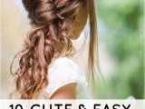 Cute Hairstyles for toddlers with Short Hair 10 Cute and Easy Hairstyles for Kids