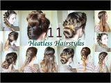 Cute Hairstyles Heatless 11 Heatless Hairstyles Diy Hairstyles