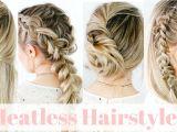 Cute Hairstyles Heatless Heatless Hairstyles Straight Hair Kayleymelissa