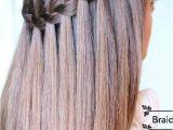 Cute Hairstyles Loop Waterfall Braid Learn How to Do A Waterfall Braid Hair Style