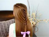Cute Hairstyles Mermaid Waterfall Twists Into Mermaid Braid Cute Hairstyles
