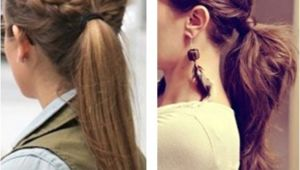 Cute Hairstyles Second Day Hair Cute Pony Tails Things I Love Pinterest