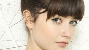 Cute Hairstyles to Do with Bangs 18 Quick and Simple Updo Hairstyles for Medium Hair