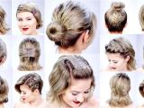 Cute Hairstyles to Do with Short Hair Easy Hairstyles for Short Hair Short and Cuts Hairstyles