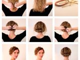 Cute Hairstyles to Do with Short Hair Easy Hairstyles for Short Hair to Do at Home