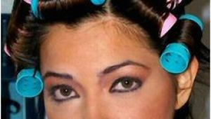 Cute Hairstyles Using Rollers 682 Best Gorgeous In Rollers Images On Pinterest