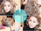 Cute Hairstyles with A Straightener 2 Easy Curly Hairstyles for Short Hair Featuring the Chi