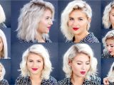 Cute Hairstyles with A Straightener How to 10 Easy Short Hairstyles with Flat Iron Tutorial