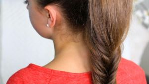 Cute Hairstyles with Fishtail Braids Fluffy Fishtail Braid Hairstyles for Long Hair