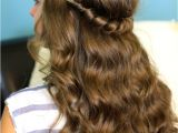 Cute Hairstyles with Headbands Headband Twist Half Up Half Down Hairstyles