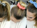 Cute Hairstyles with Scrunchies 3 Quick & Easy Hairstyles Using Scrunchies