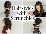 Cute Hairstyles with Scrunchies Cute and Easy Hairstyles Using Scrunchies