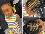 Cute Little Black Girl Ponytail Hairstyles Kids Braided Ponytail Naturalista Pinterest
