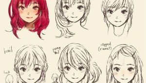 Cute Manga Hairstyles My Style Doodles Ridley S Bloggie