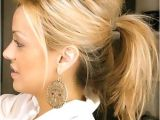 Cute Ponytail Hairstyles for Medium Length Hair 30 Easy and Cute Hairstyles