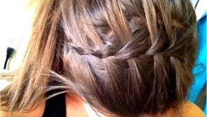 Cute Ponytail Hairstyles for Sports 11 Waterfall French Braid Hairstyles Long Hair Ideas