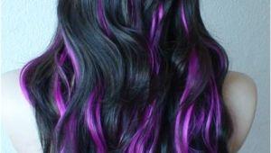 Cute Purple Highlights Purple Highlights for Summer Hair Ideas Pinterest