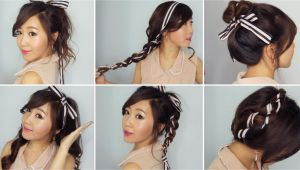 Cute Ribbon Hairstyles 6 Easy Ribbon Hairstyles