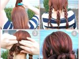 Cute Simple Summer Hairstyles Easy Bun Hairstyle Tutorials for the Summers top 10