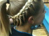Cute softball Hairstyles softball Hair Braided Hairstyle & Ponytail for Sports