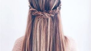 Cute Straight Hairstyles for School 10 Super Trendy Easy Hairstyles for School Popular Haircuts