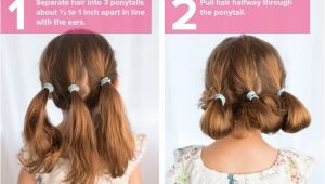Cute Updo Hairstyles for Short Curly Hair 5 Fast Easy Cute Hairstyles for Girls In 2018 Hair