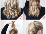 Cute Work Hairstyles for Long Hair 15 Cute and Easy Ponytail Hairstyles Tutorials Popular