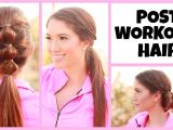 Cute Workout Hairstyles for Short Hair Quick and Easy Post Workout Hairstyles