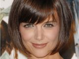 Cutest Bob Haircuts Cute Short Bob Hairstyle From Katie Holmes Hairstyles Weekly