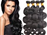 Deep Wave Hairstyles for Black Women Body Wave Brazilian Hair Human Hair Weave Grade 7a Virgin Hair