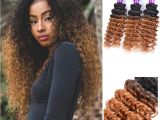 Deep Wave Hairstyles for Black Women Dark Honey Blonde Hair Colorful 1b 30 Blonde Dark Root Ombre