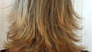 Defined Layered Hairstyles Layered Haircut Back View Haircut