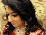 Different Hairstyles for Wedding Reception Indian Indian Wedding Hairstyle for Wedding and Reception with Jewels