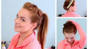 Diy athletic Hairstyles 3 Workout Ready Hairstyles Diy Headband