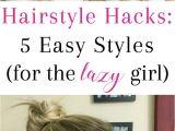 Diy Easy Hairstyles for School Hairstyle Hacks 5 Easy Styles Braids